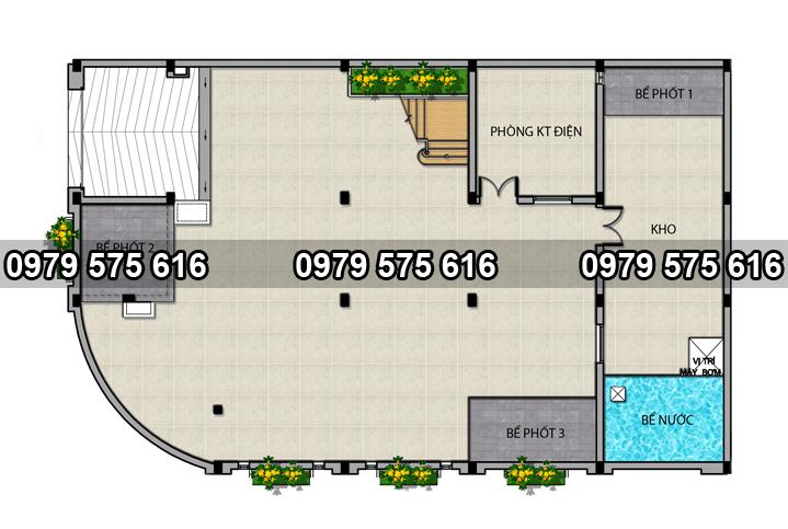 mẫu khách sạn 12.5x20.4m
