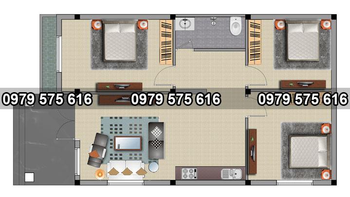 tổng hợp các mẫu thiết kế nhà cấp 4 đẹp1