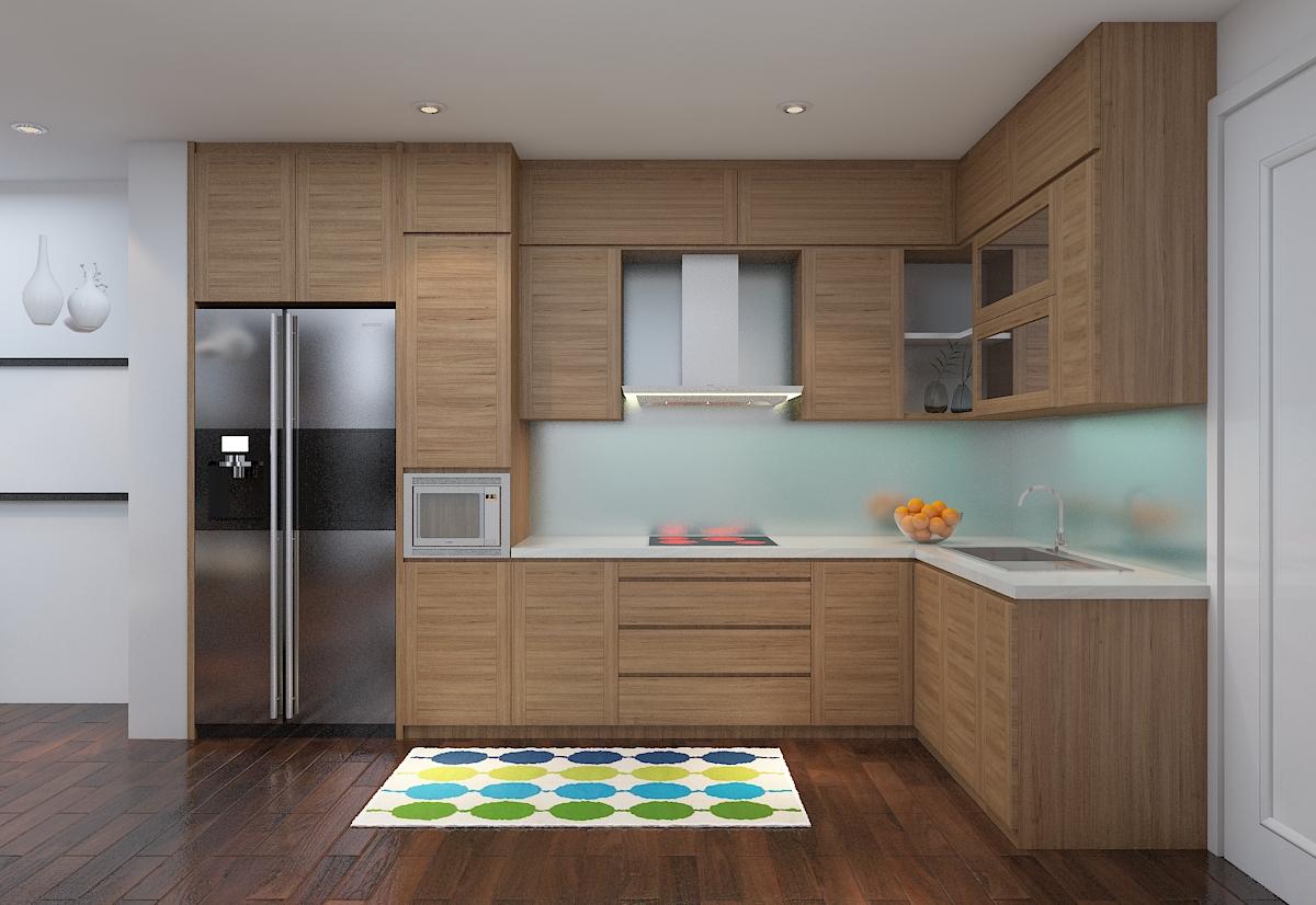 thiết kế nội thất chung cư 120m2 tại quận Hà Đông2