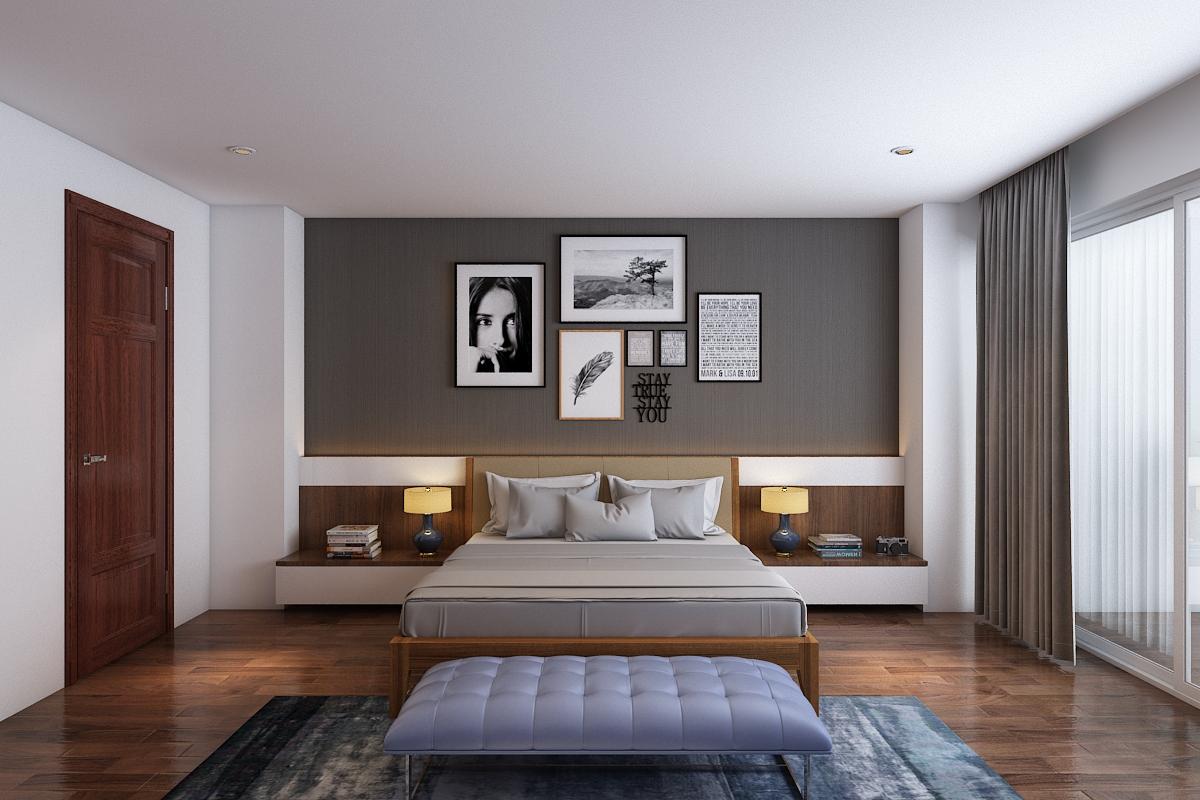 thiết kế nội thất chung cư 120m2 tại quận Hà Đông3